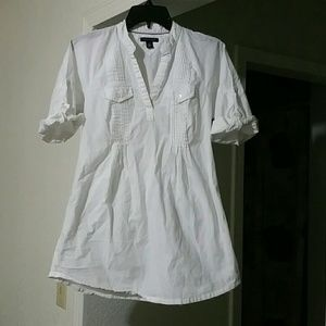 White Tommy Hilfiger blouse